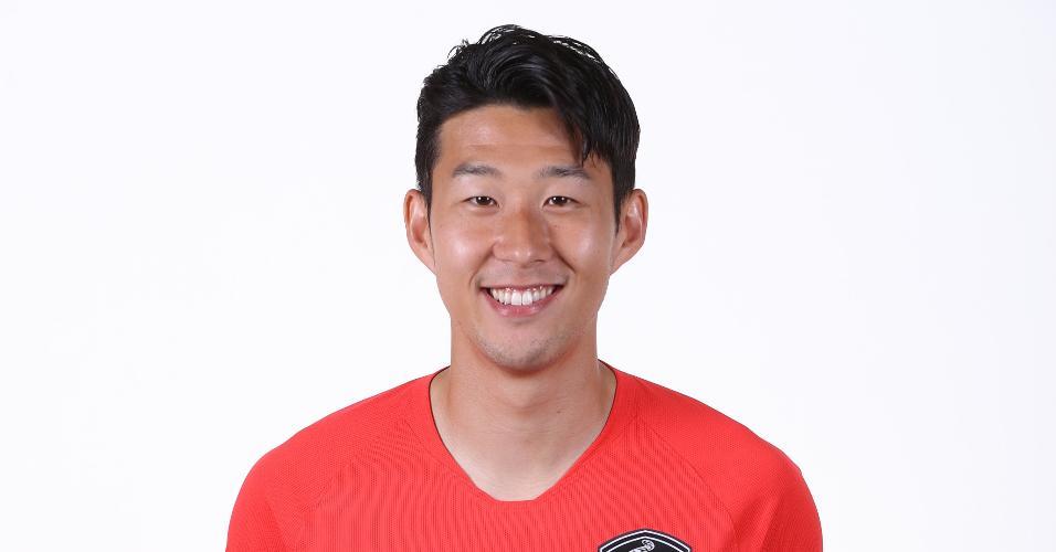 Son Heungmin - atacante da seleção sul-coreana