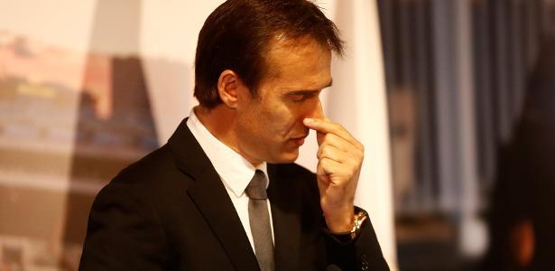 Lopetegui assumiu o Real após a saída de Zidane, tricampeão consecutivo da Champions
