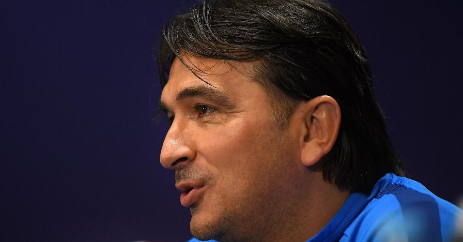 Técnico da Croácia,  Zlatko Dalic, em entrevista prévia à final da Copa do Mundo da Rússia contra a França