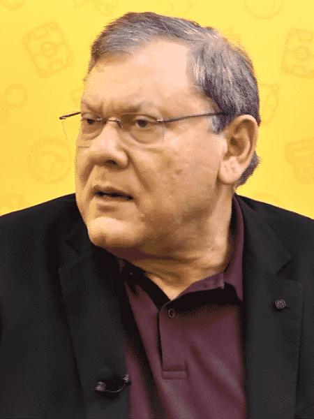 """Milton Neves, apresentador do """"Terceiro Tempo"""" - reprodução/TV UOL"""