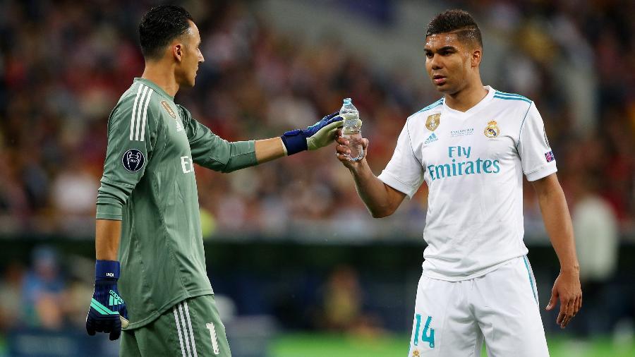 O volante Casemiro, do Real Madrid, durante final da Liga dos Campeões - Hannah McKay/Reuters