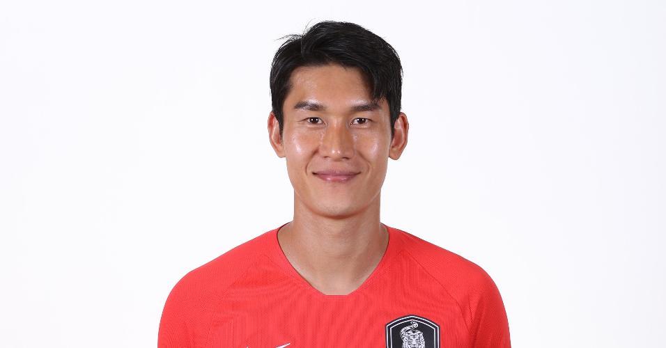 Lee Yong - Defensor da seleção sul-coreana