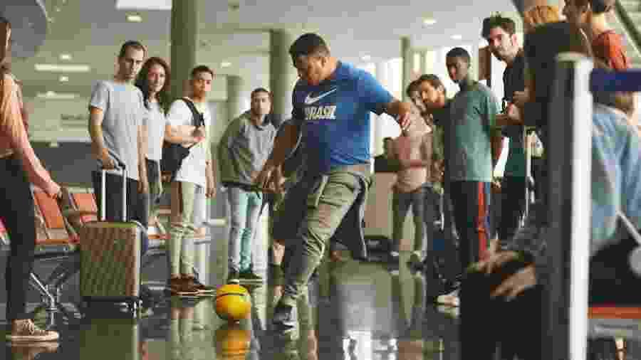 Ronaldo participa de comercial da Nike  - Divulgação/Nike