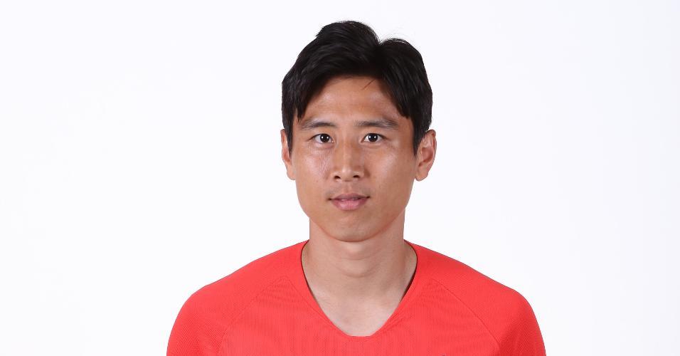 Koo Jacheol - meia da seleção sul-coreana