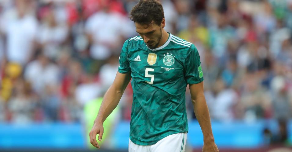 Mats Hummels lamenta eliminação da Alemanha