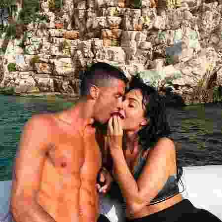 Cristiano Ronaldo e namorada Georgina Rodríguez - Reprodução/Instagram