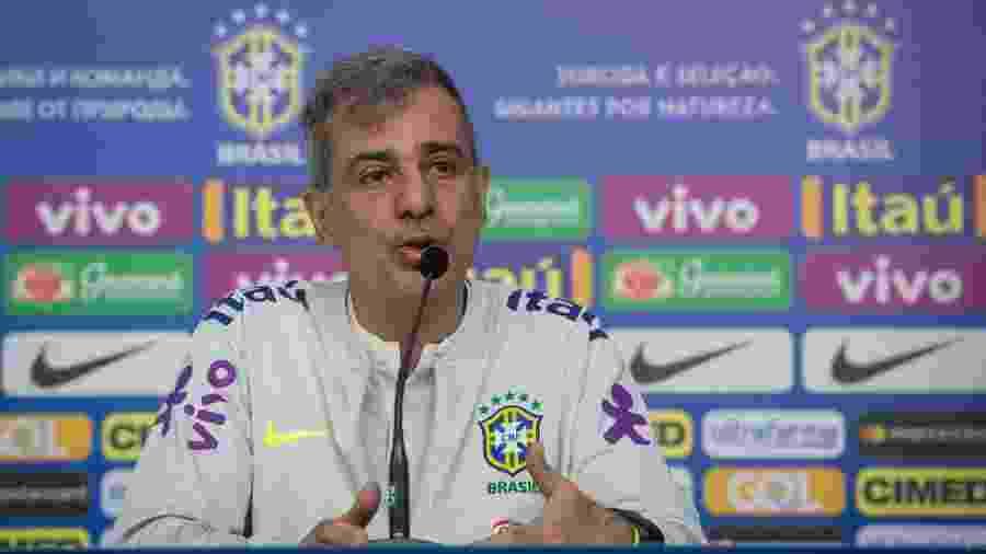 """Fábio Mahseredjian (foto) colocou Neymar em """"plenas condições"""", seguindo recado de Ricardo Rosa, preparador do atleta - Pedro Martins / MoWA Press"""