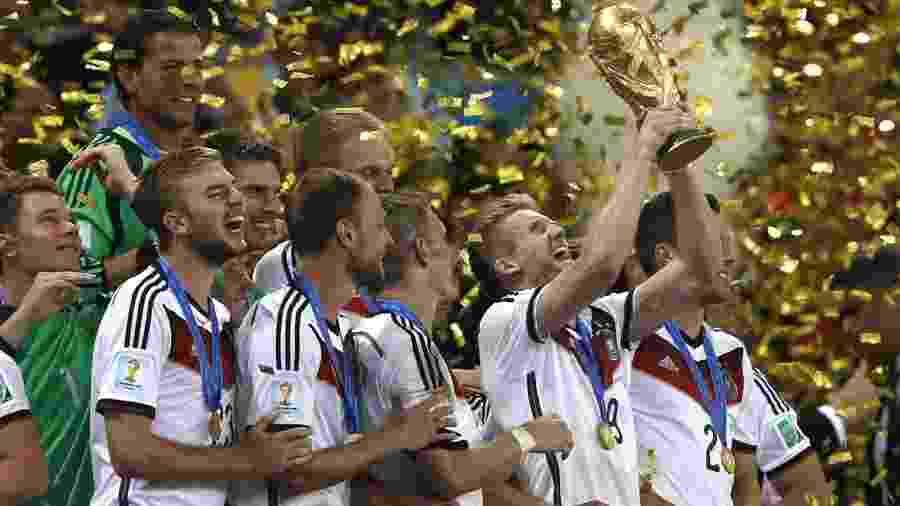 Seleção da Alemanha foi campeã mundial em 2014; 93 autoridades brasileiras tiveram ingressos grátis - Adrian Dennis/AFP