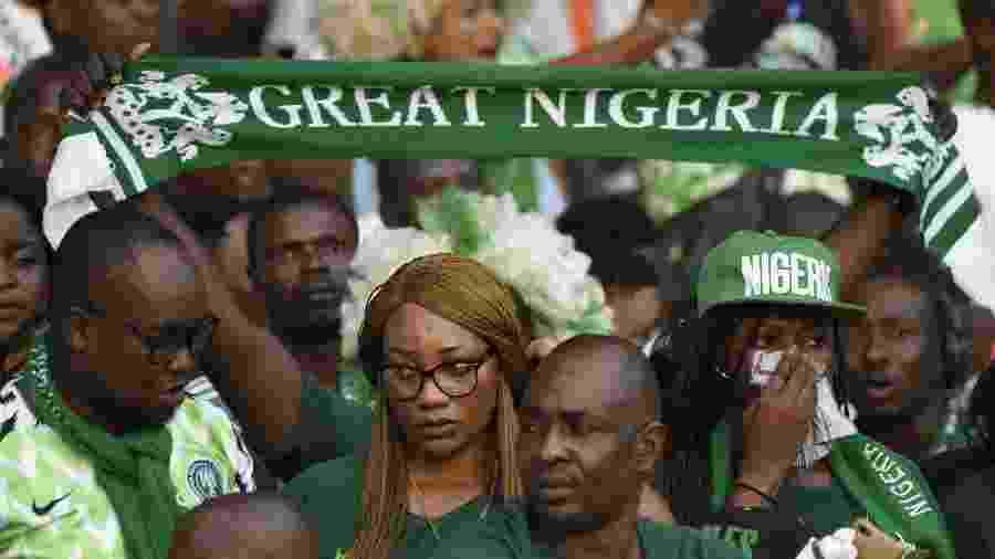 Torcedores nigerianos - AFP Photo