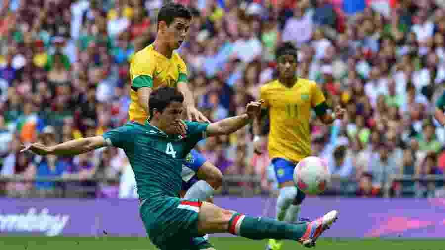 México derrotou Brasil na final da Olimpíada de Londres, em 2012 - AFP PHOTO / Luis ACOSTA