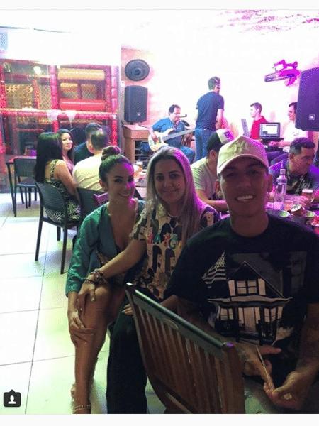 Roberto Firmino pagou rodada de chope em restaurante de Maceió - Reprodução/Instagram