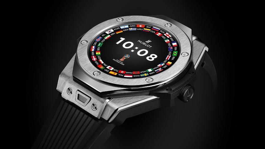 Relógio oficial da Copa do Mundo que será usado pelos árbitros na Rússia - Divulgação