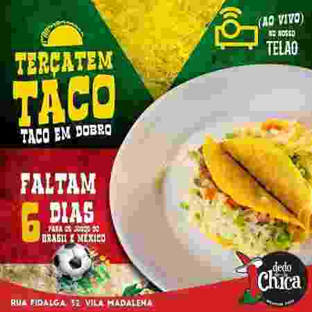 Restaurante mexicano Dedo de la Chica - Divulgação - Divulgação