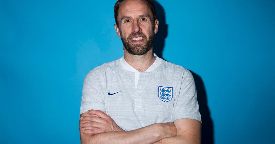 Gareth Southgate, técnico da Inglaterra na Copa 2018