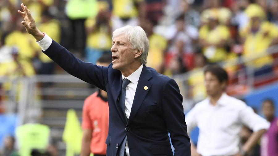 """Técnico da Colômbia elogiou a Inglaterra: """"É uma equipe jovem, na qual se nota muita confiança"""" - Filippo Monteforte/AFP"""