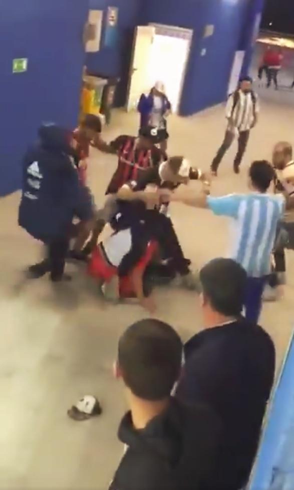 Briga Argentina Croácia Copa do Mundo