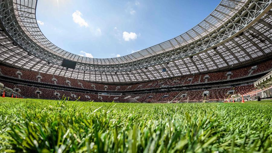 Estádio Luzhniki receberá Espanha x Rússia - AFP PHOTO / Mladen ANTONOV