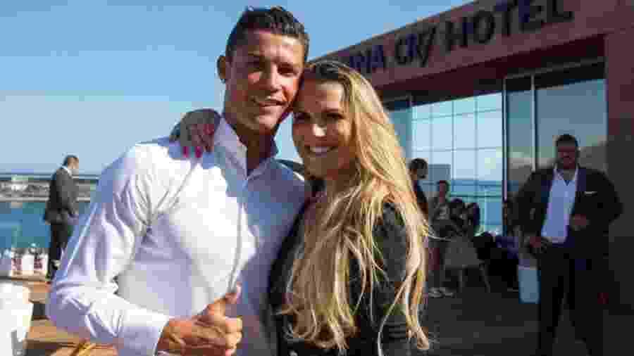 Cristiano Ronaldo, assim como a irmã Katia Aveiro, é fã da cantora brasileira Ivete Sangalo - Divulgação/BlogKatia