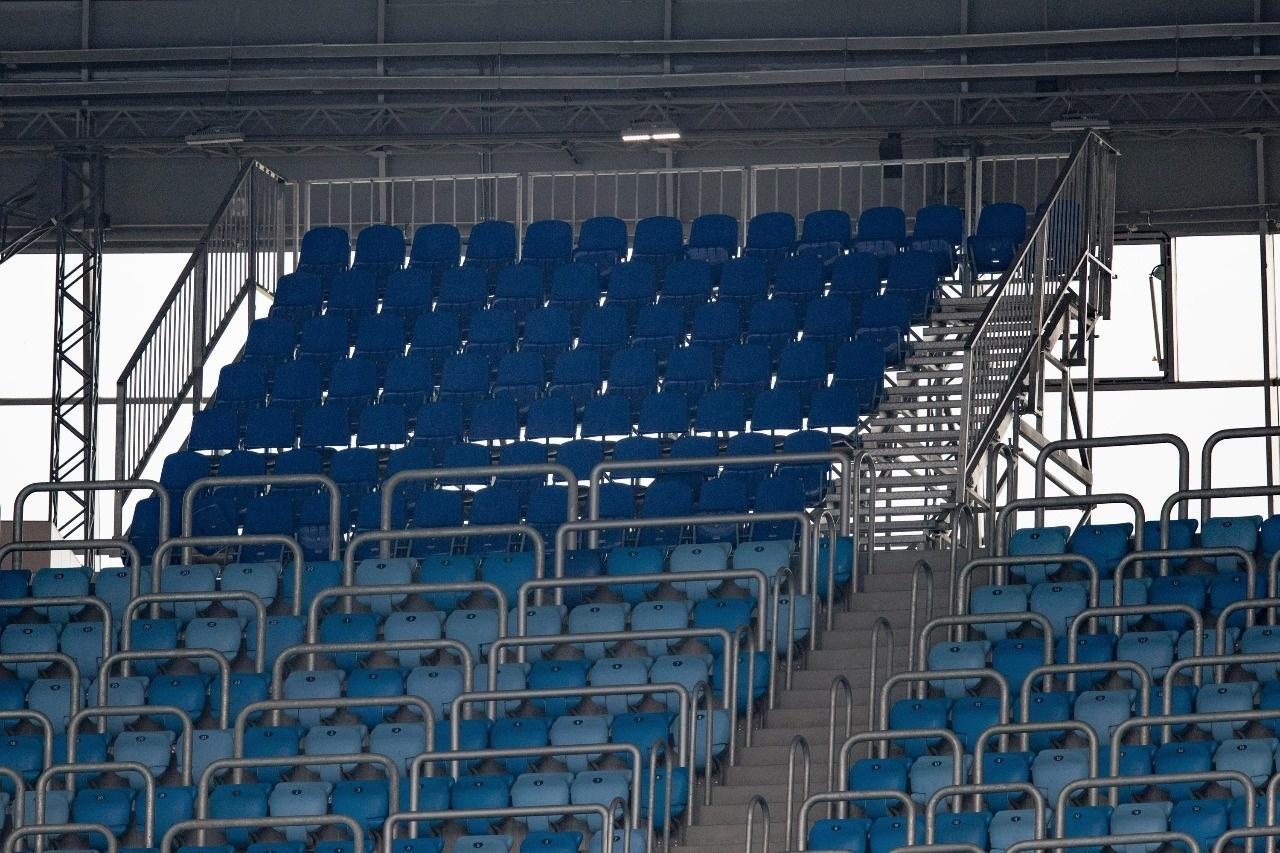 Arquibancada adicional da Arena de São Petersburgo