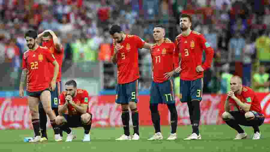9048ecab70 Espanha na Copa 2018  Espanha quis dominar o mundo