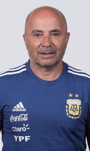 Jorge Sampaoli, técnico da Argentina
