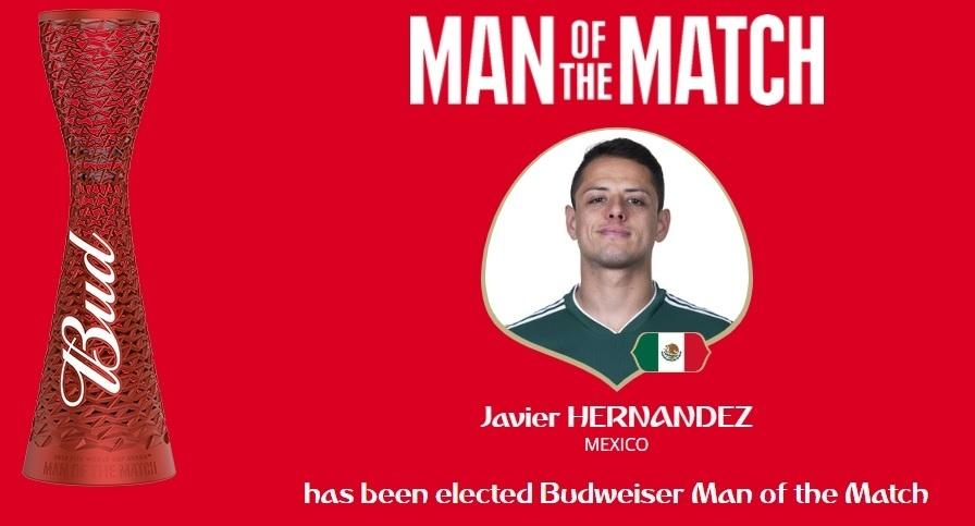 Javier Hernandez foi eleito pela Fifa o