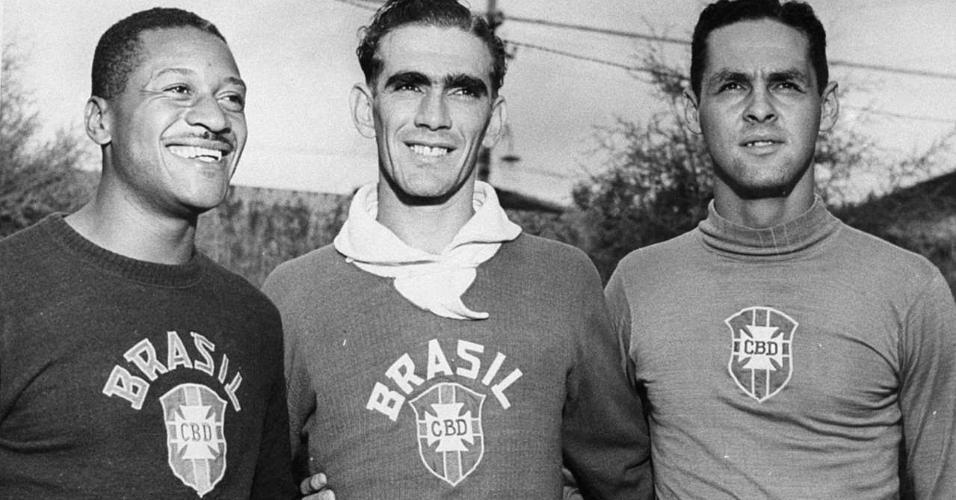 Barbosa Castilho Gilmar dos Santos Neves Brasil goleiros