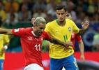 Algoz de Neymar na estreia do Brasil se casa com medalhista olímpica - REUTERS/Marko Djurica
