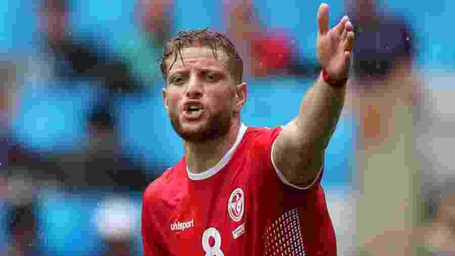 Fakhreddine Ben Youssef será o goleiro reserva da Tunísia contra o Panamá - REUTERS/Albert Gea