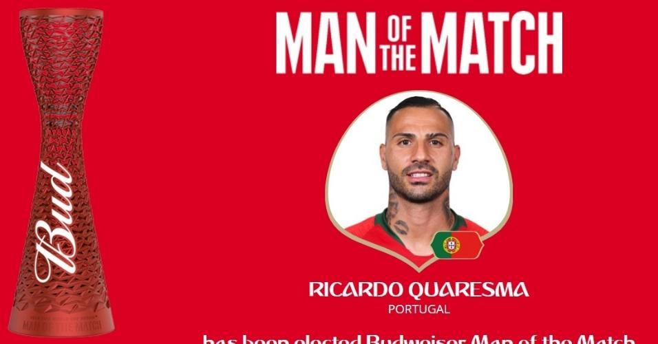 Ricardo Quaresma é eleito o