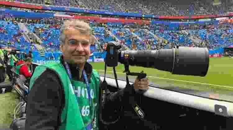 Fotógrafo Eugênio Sávio  - BBC - BBC