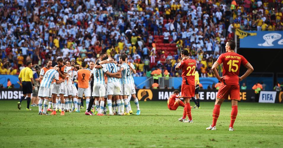 Bélgica Argentina Copa do Mundo 2014