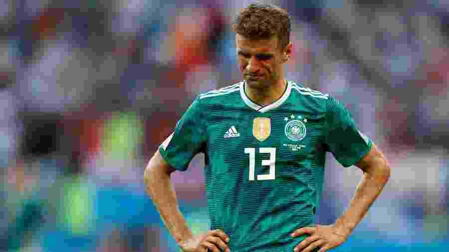 Autor de dez gols nas Copas de 2010 e 2014, atacante passou em branco na Copa de 2018 - REUTERS/John Sibley