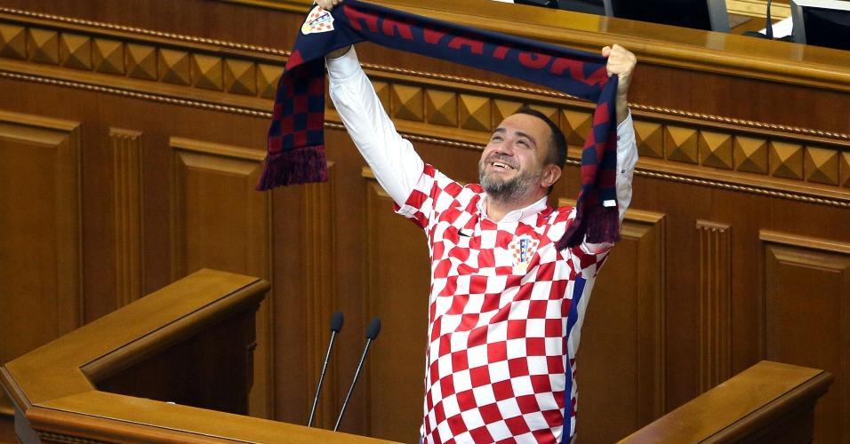 Andriy Pavelko presidente federação ucraniana parlamengo
