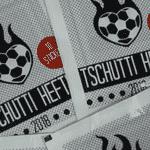 Figurinhas são fabricadas pela editora 'Tschutti Heftli' - Reprodução