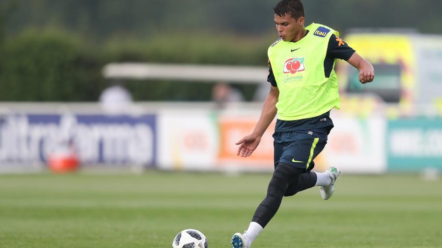 Thiago Silva será titular na zaga brasileira no primeiro amistoso preparatório para a Copa do Mundo - Pedro Martins/MowaPress