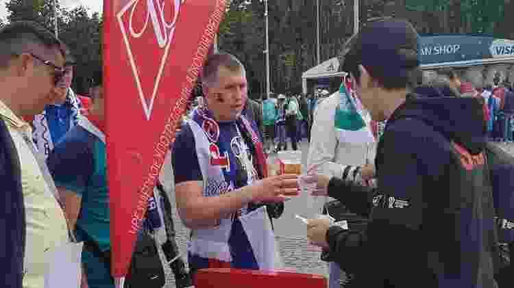 Venda de copos da Copa na Rússia - UOL - UOL