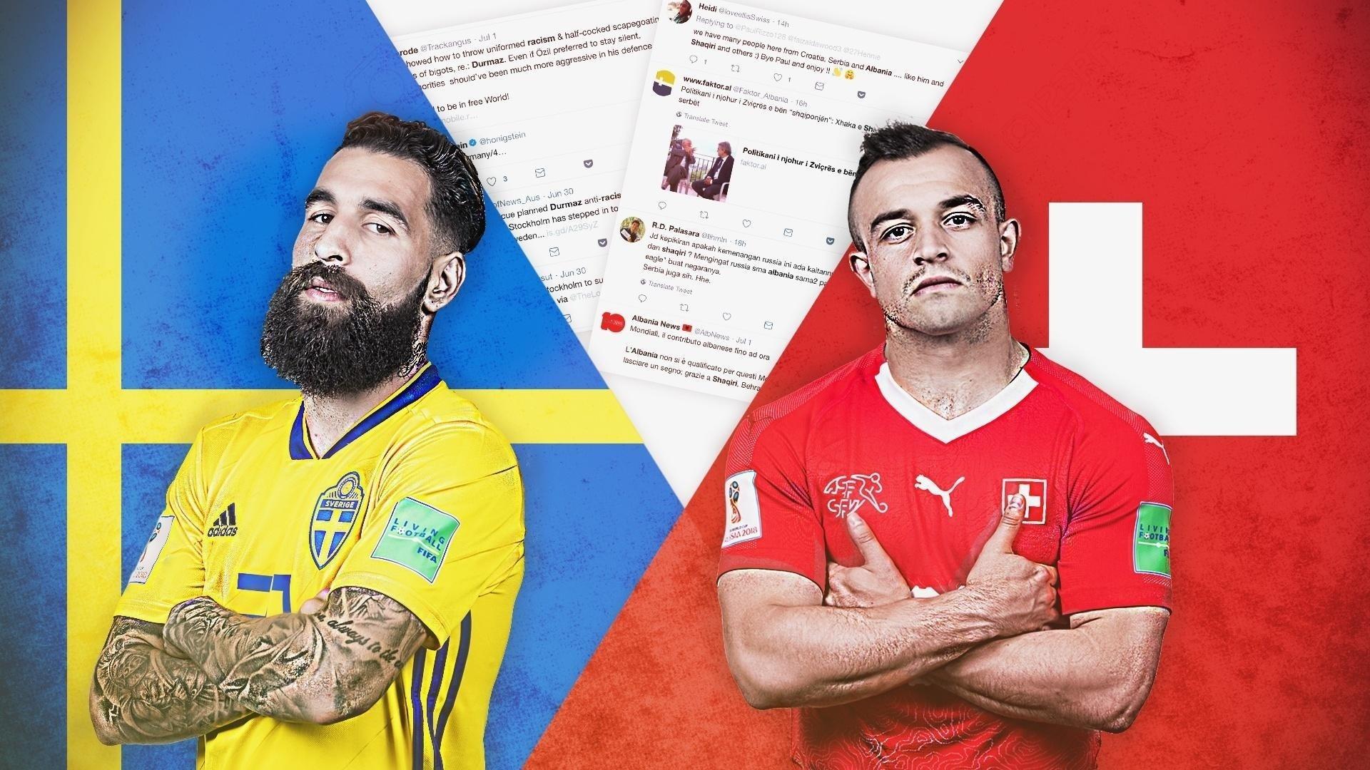 Suécia e Suíça duelam nas oitavas de final - UOL Copa do Mundo 928b2ebaf1cf8
