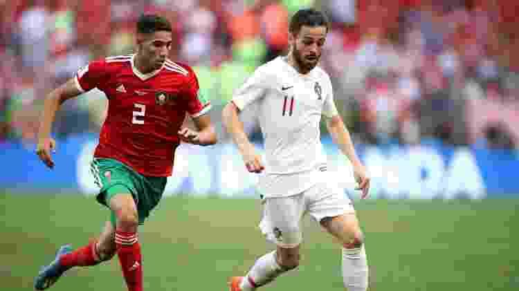 Bernardo Silva Portugal Marrocos - Carl Recine/Reuters - Carl Recine/Reuters