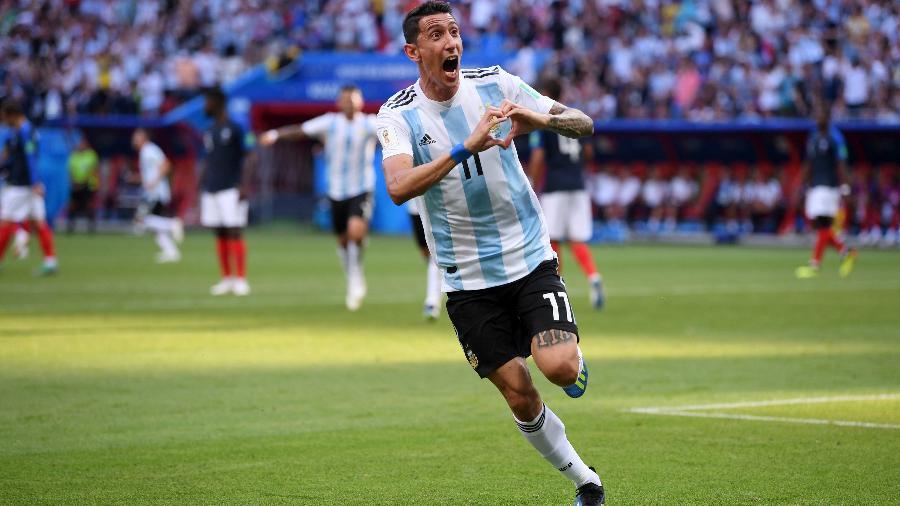 Di María não tem sido chamado pelo técnico Lionel Scaloni para seleção argentina - Laurence Griffiths/Getty Images