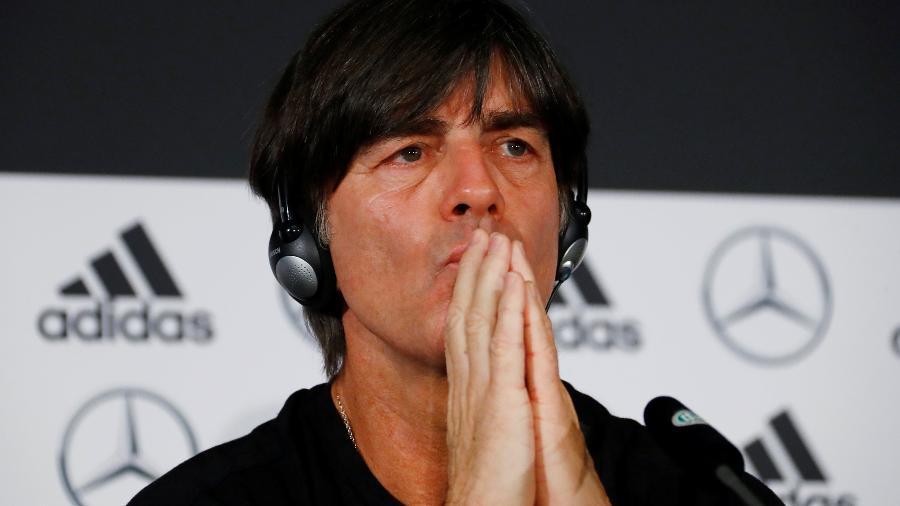 Joachim Löw, técnico da Alemanha, falou na véspera de amistoso - Reuters