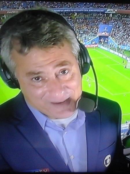 Cléber Machado vai transmitir Santos e Guarani no SporTV - Reprodução/Globo