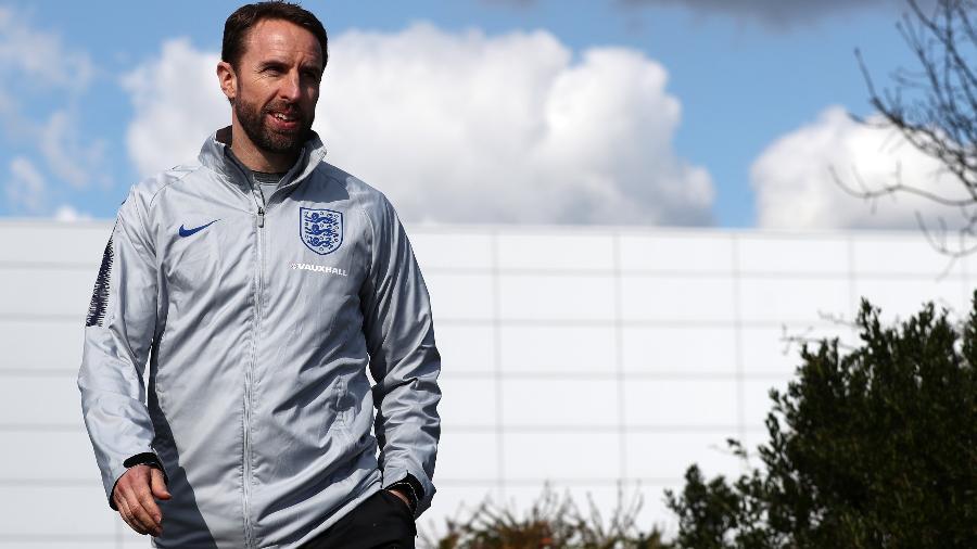 Southgate quer privacidade e nada de agito perto da Inglaterra na Copa - Catherine Ivill/Getty Images