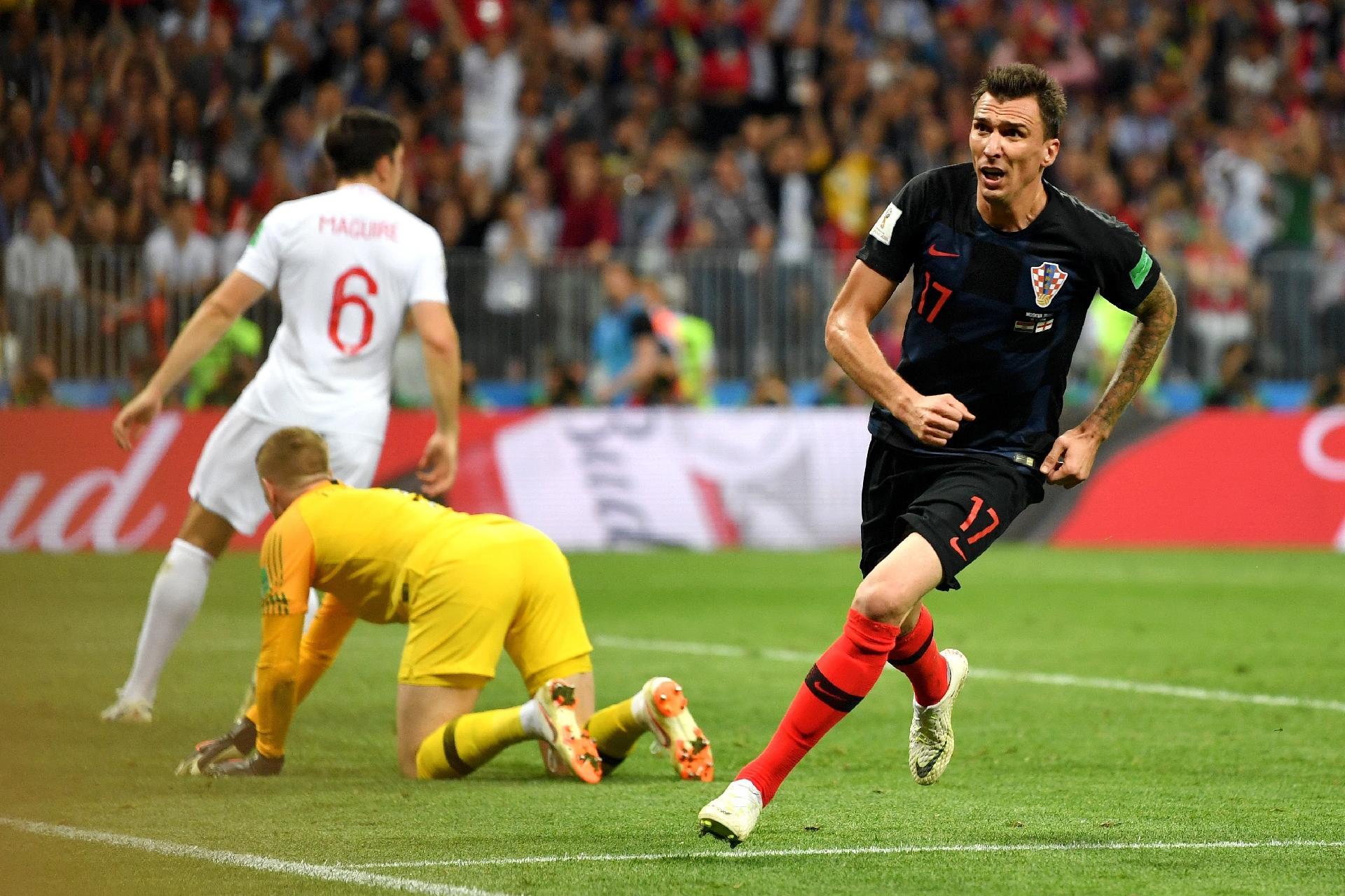 Copa do Mundo 2018  Croácia vira sobre Inglaterra 8204c2f8a3460