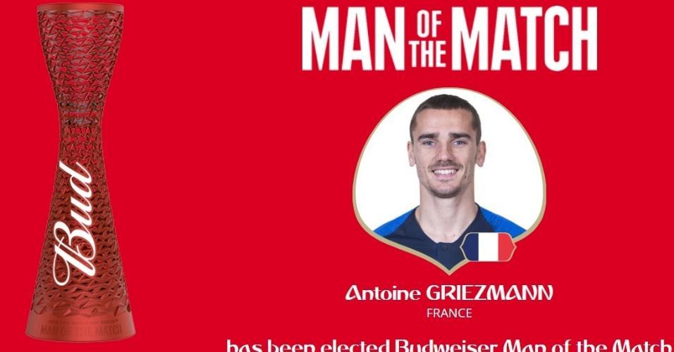 Antoine Griezmann é eleito o