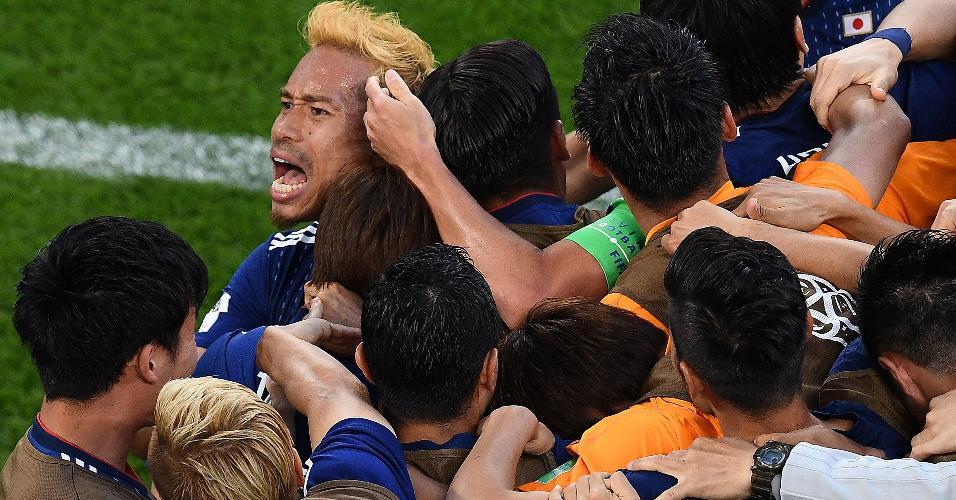 Japão Senegal festa japonesa Copa do Mundo