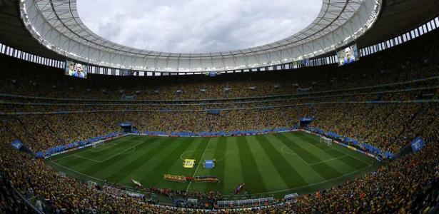 Clássico entre Flumonense e Vasco será disputado no Mané Garrincha, em Brasília - REUTERS/Ruben Sprich