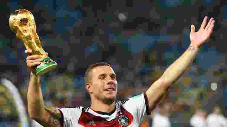 Lukas Podolski - Julian Finney/Getty Images - Julian Finney/Getty Images
