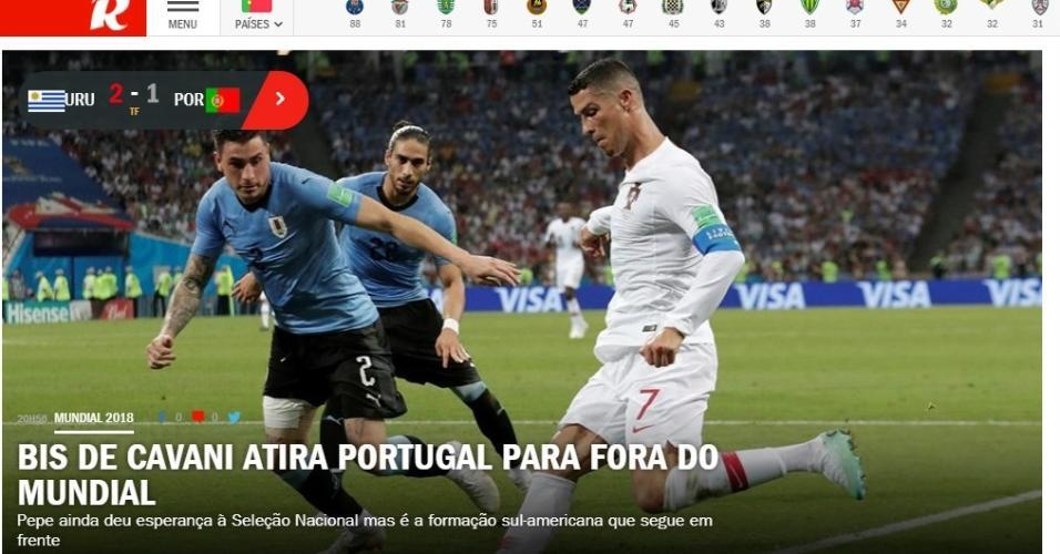 Site do jornal português