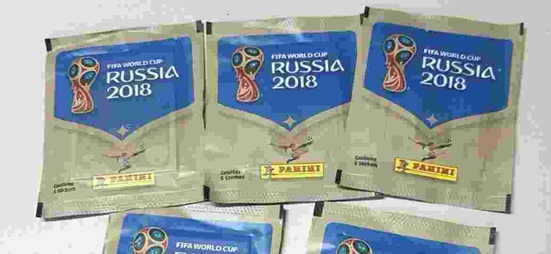 Preço das figurinhas subiu 60% em relação ao Mundial do Brasil, segundo a BBC - UOL